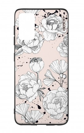Samsung S20Plus Two-Component Cover - Peonias
