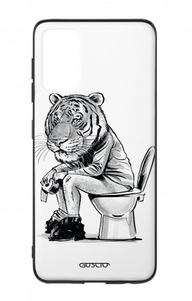 Samsung S20Plus Two-Component Cover - Tiger on WC