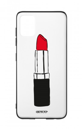 Samsung A51 Two-Component Cover - Red Lipstick