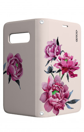 Apple iPh XS MAX WHT Two-Component Cover - Tiger on WC