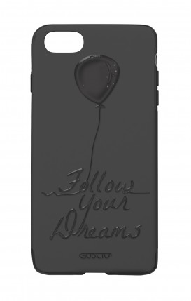 Cover Skin Feeling Apple iphone 7/8Plus GREY - Follow your dream