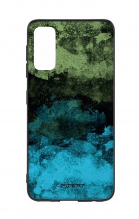Cover Samsung S20 - Mineral Black Lime