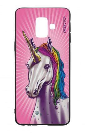 Cover Bicomponente Samsung J6 2018 WHT - Unicorno