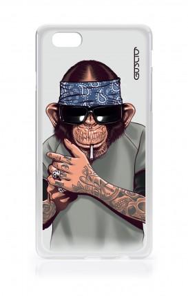 Cover TPU Apple iPhone 6/6s - Scimpanze con bandana