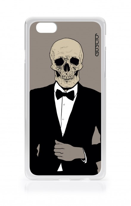 Cover TPU Apple iPhone 6/6s - Teschio in Smoking