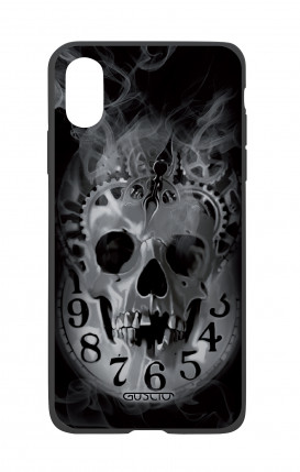 Cover Bicomponente Apple iPhone X/XS - Teschio e orologio