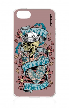 Cover Apple iPhone 5/5s/SE - Death before dishonor