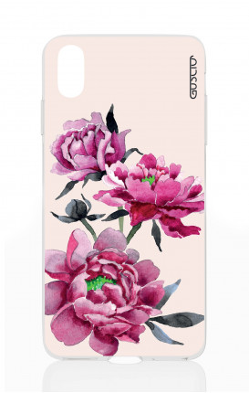 Cover Apple iPhone X/XS - Pink Peonias