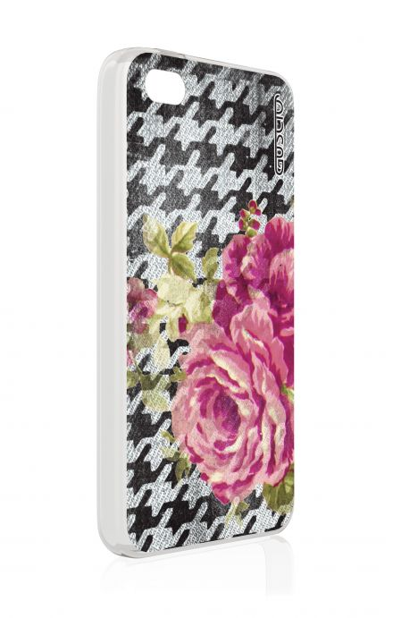 Cover Apple iPhone 4/4S - Piedepoul flower
