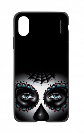 Apple iPhone X White Two-Component Cover - Calavera Eyes