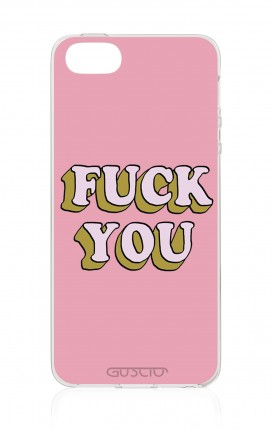 Cover TPU Apple iPhone 5/5s/SE - Fuck You
