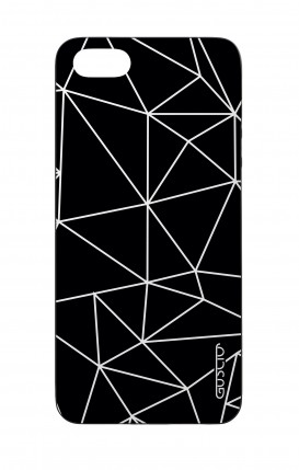 Apple iPhone 5 WHT Two-Component Cover - Geometric Abstract