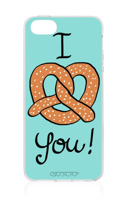 Cover Apple iPhone 5/5s/SE - I Pretzel You