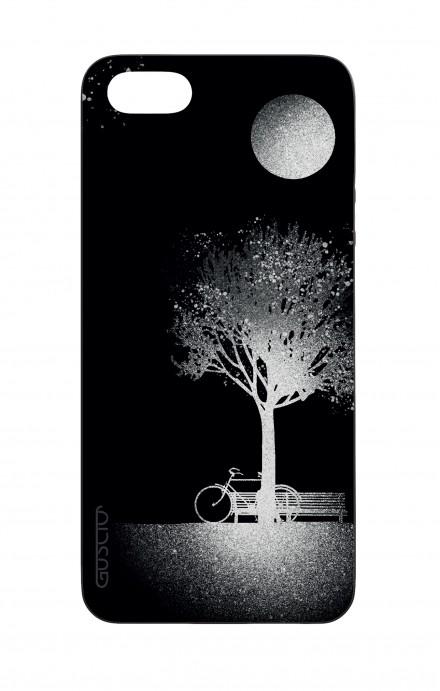 Cover Bicomponente Apple iPhone 5/5s/SE  - Luna e Albero