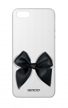 Apple iPhone 5 WHT Two-Component Cover - Black Bow