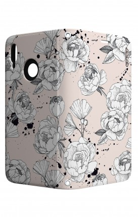 Cover STAND Huawei P20 Lite - Peonie