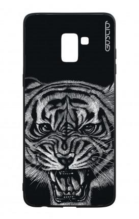 Cover Bicomponente Samsung Galaxy A8 (A5 2018) - Tigre nera