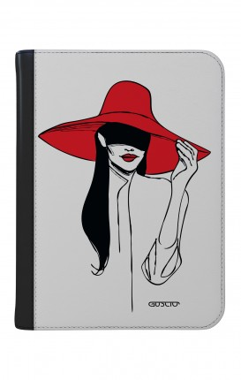 """Cover Universal Tablet Case per 9/10"""" display - Cappello rosso"""