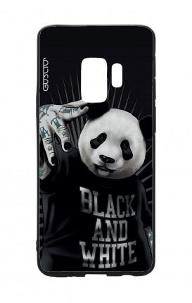 Cover Bicomponente Samsung S9Plus  - Panda rap