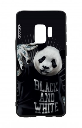 Cover Bicomponente Samsung S9Plus - Panda rap