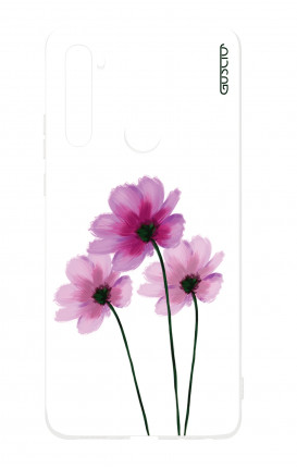 Cover Xiaomi Redmi Note7 - Flowers on white