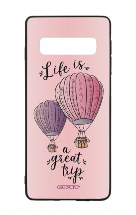 Cover Bicomponente Samsung S10 - Mongolfiere