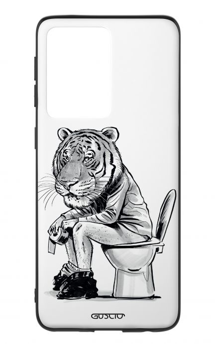 Cover Samsung S20 Ultra - Tiger on WC