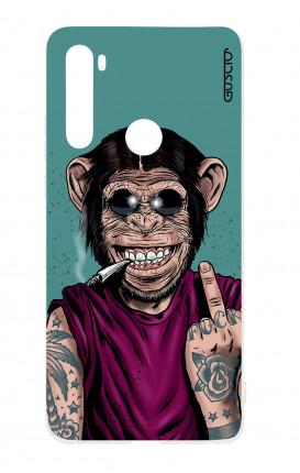 Cover TPU Xiaomi Redmi Note 8T - Scimmia felice