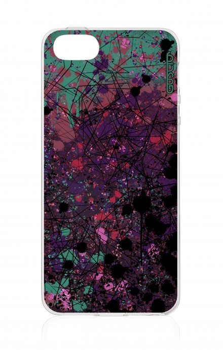 Cover Apple iPhone 5/5s/SE - Spruzzo di colori