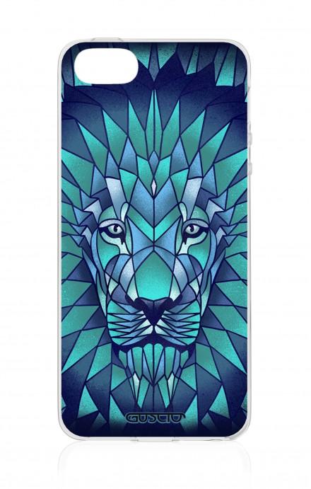 Cover Apple iPhone 5/5s/SE - leone prismatico