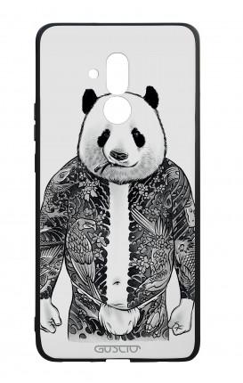 Huawei Mate20Lite WHT Two-Component Cover - Panda Yakuza