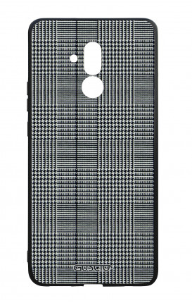 Huawei Mate20Lite WHT Two-Component Cover - Glen plaid