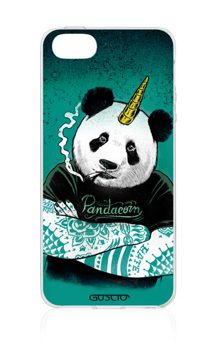 Cover Apple iPhone 5/5s/SE - Pandacorno tatuato