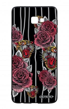 Cover Bicomponente Samsung J4 Plus - Rose e tigri tattoo