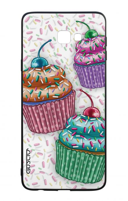 Samsung J4 Plus WHT Two-Component Cover - Cupcakes