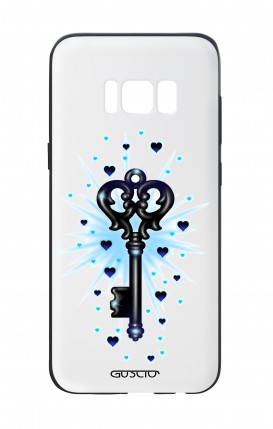 Samsung S8 White Two-Component Cover - Key Wish