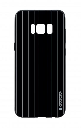 Cover Bicomponente Samsung S8 - Righe Classiche