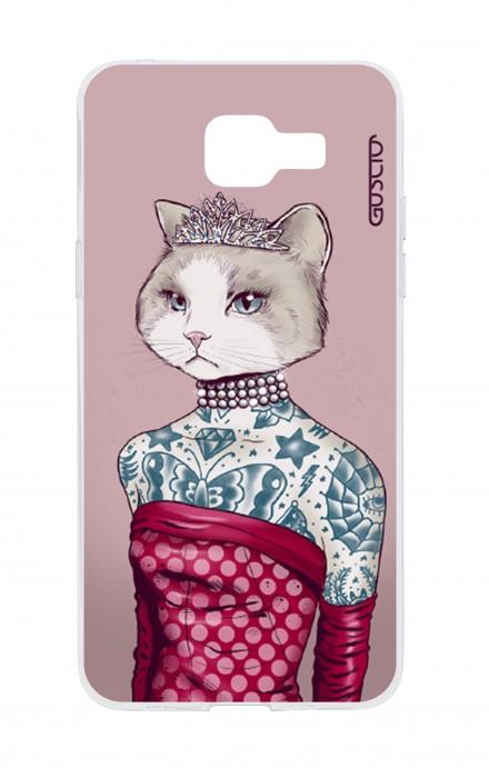Cover TPU Samsung Galaxy A5 (2016) - Gattina principessa