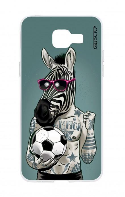Cover TPU Samsung Galaxy A5 (2016) - Zebra