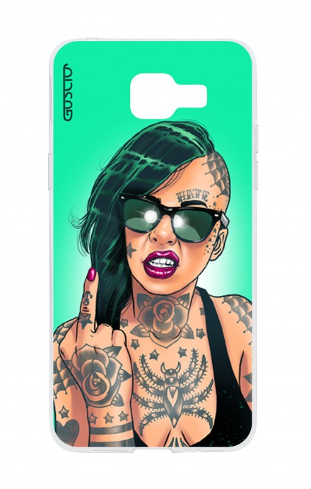 Cover Samsung Galaxy A5 (2016) - Girl in Green