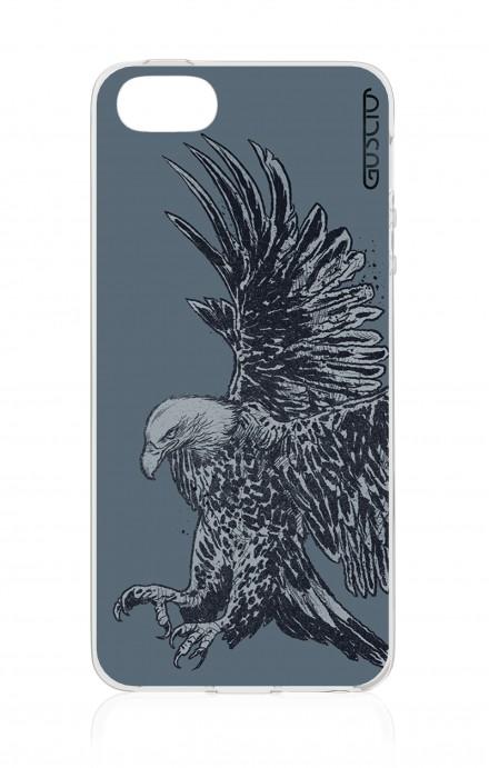 Cover Apple iPhone 5/5s/SE - Blue Eagle