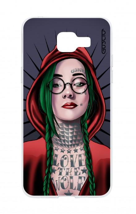 Cover TPU Samsung Galaxy A5 (2016) - Cappuccetto rosso tatuata