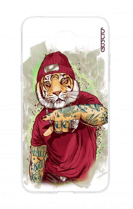 Cover TPU Samsung Galaxy A5 (2016) - Tigre Hip Hop bianco