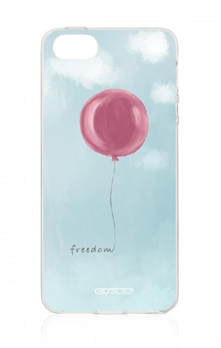 Cover TPU Apple iPhone 5/5s/SE - palloncino della libertà