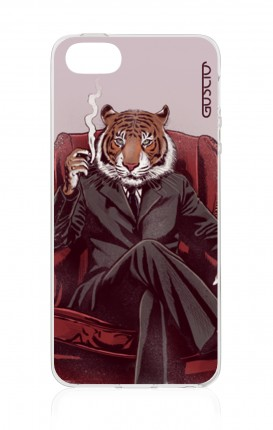 Cover TPU Apple iPhone 5/5s/SE - Tigre elegante