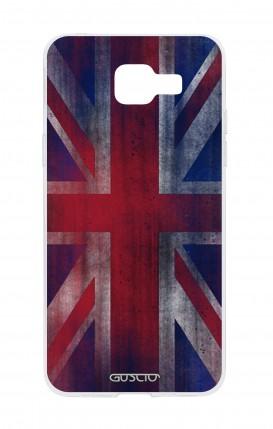 Cover Samsung Galaxy A5 (2016) - Bandiera inglese vintage