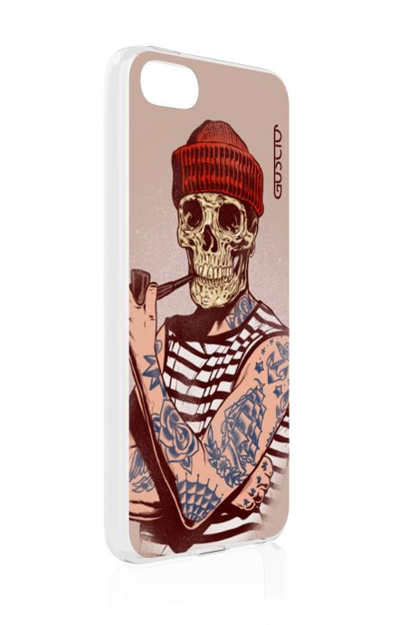 Cover Apple iPhone 5/5s/SE - Skull Sailor with Red Cup