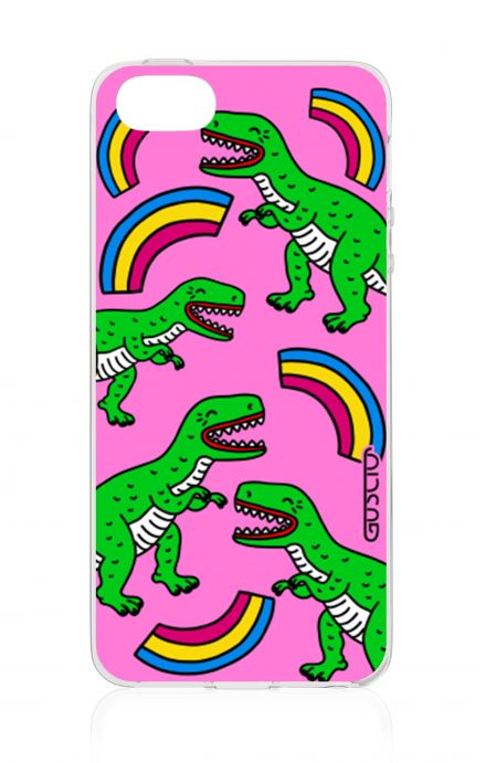 Cover Apple iPhone 5/5s/SE - T-Rex pattern
