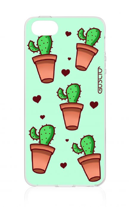 Cover Apple iPhone 5/5s/SE - Cactus Pattern