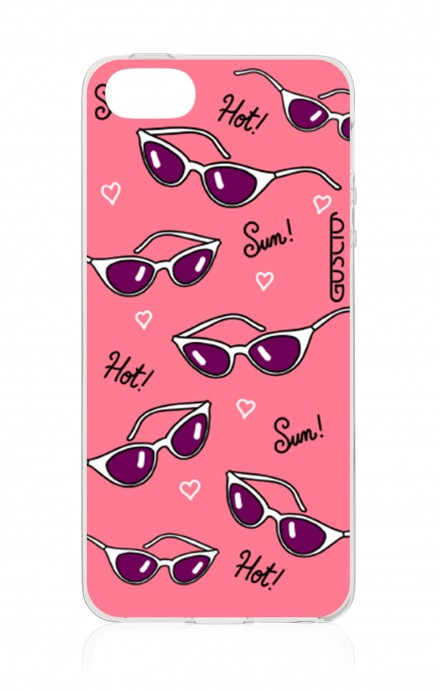 Cover Apple iPhone 5/5s/SE - Occhiali Pattern